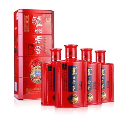 (清仓)52°泸州老窖头曲红色礼盒