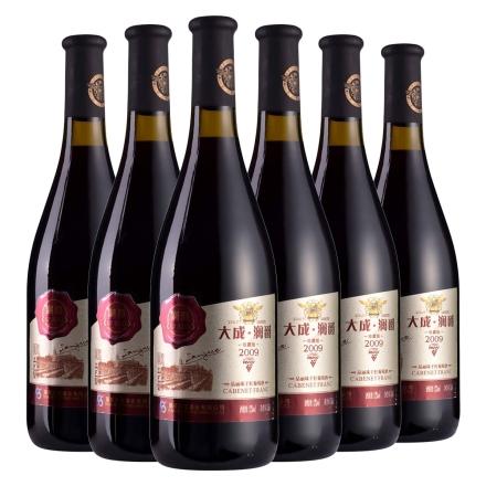 大成·澜爵2009珍藏版品丽珠干红葡萄酒750ml(6瓶装)