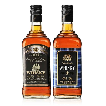 40°路易卡斯堡•蓝格威士忌700ml+40°路易卡斯堡路易•金帝威士忌700ml