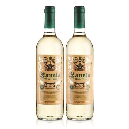 西班牙圣内拉半甜白葡萄酒750ml(双瓶装)