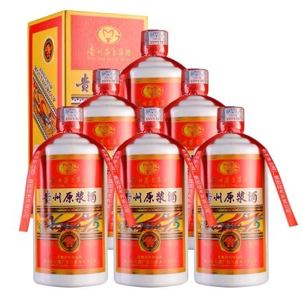 【清仓】52°茅台集团贵州原浆庆典1992 500ml(红盒)(6瓶装)