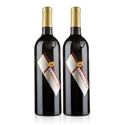 【清仓】法国原瓶进口AOC格拉芙梵希干红葡萄酒750ml(双瓶装)