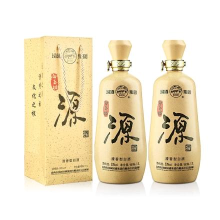 53°汾酒集团白玉坊源酒1100ml(双瓶装)