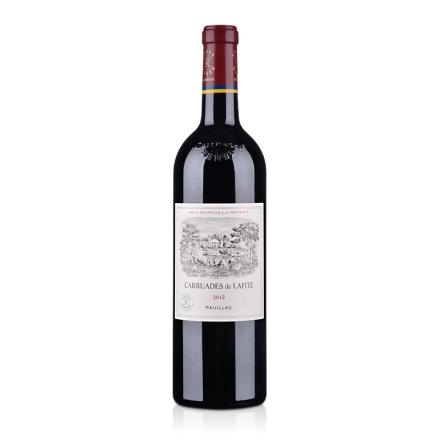 (列级庄·名庄·副牌)法国拉菲酒庄2012干红葡萄酒750ml(又译:小拉菲、拉菲古堡)