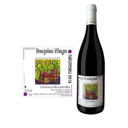 法国博若莱新酒村庄级-- 诺莱雅干红葡萄酒750ml