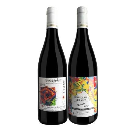法国博若莱新酒(诺莱雅干红+芙勒干红)