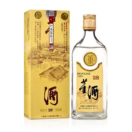 【老酒】38°董酒黄标500ml(90年代早期)