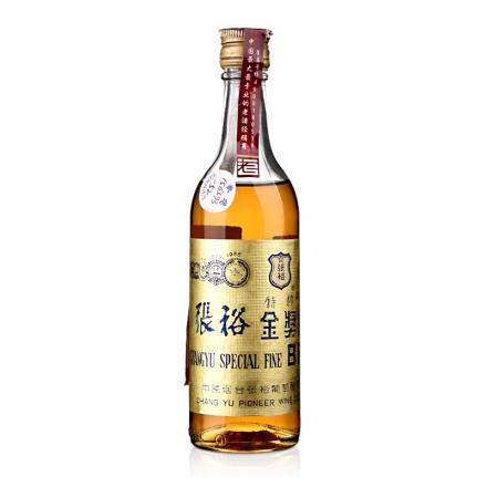 【老酒】40°张裕金奖白兰地180ml(1996年)