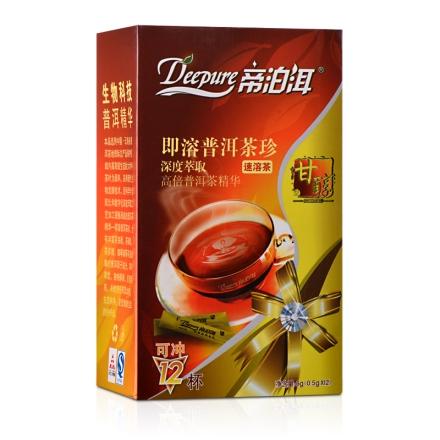帝泊洱即溶普洱茶珍-甘醇型(12袋)