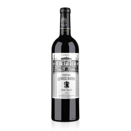 (列级庄·名庄正牌)法国巴顿庄园2007干红葡萄酒750ml(又名:礼维巴通酒庄)