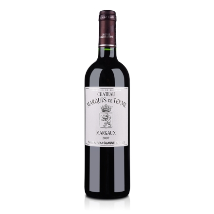 (列级庄·名庄正牌)法国德达侯爵庄园2007干红葡萄酒750ml(又名:玛赫)
