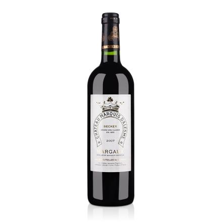 (列级庄·名庄正牌)法国阿莱斯姆侯爵酒庄2007干红葡萄酒750ml(又名:玛丘)