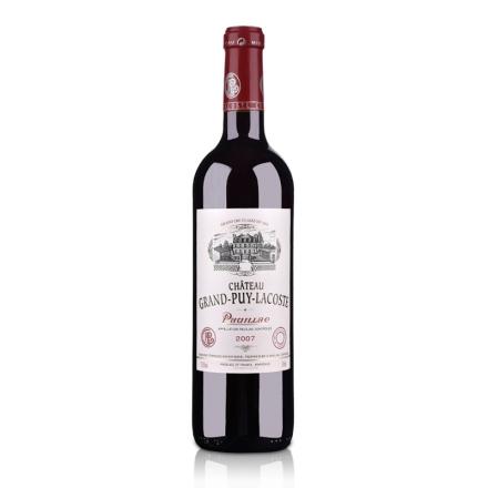 (列级庄·名庄正牌)法国拉寇斯酒庄2007干红葡萄酒750ml(又名:拉科斯塔)