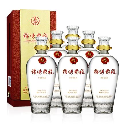 52°五粮液股份公司锦绣前程500ml(6瓶装)