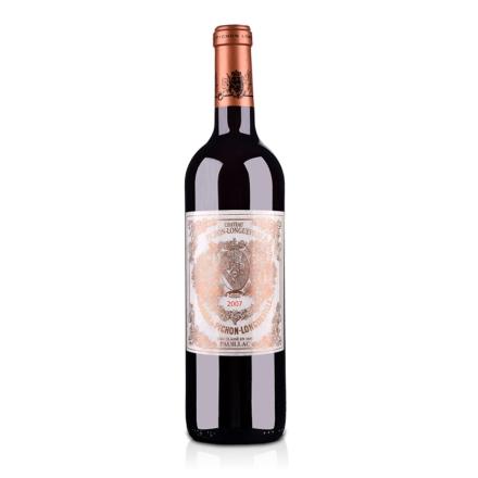 法国碧尚男爵堡2007干红葡萄酒750ml