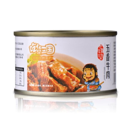 吃货三国五香牛肉100g