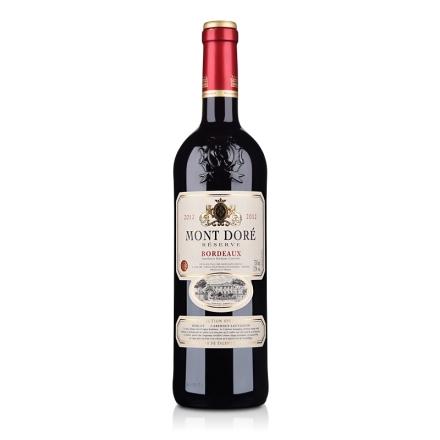 法国波尔多AOC金磨坊珍藏干红葡萄酒750ml