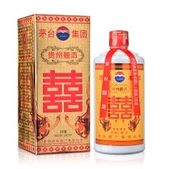 【老酒特卖】38°茅台集团贵州囍酒500ml(2003-2004年)