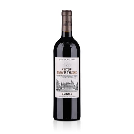 法国碧加侯爵城堡干红葡萄酒750ml