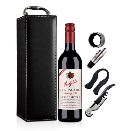 澳大利亚奔富寇兰山76干红葡萄酒单支礼盒