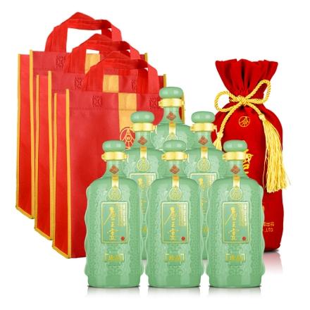 【酒仙自营】52°五粮液(股份)唐王宴珍品750ml(6瓶装)+手提袋*3