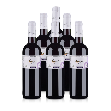 西班牙德古斯特干红葡萄酒750ml(6瓶装)