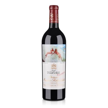 (列级庄·名庄·正牌)法国红酒木桐酒庄2012干红葡萄酒750ml