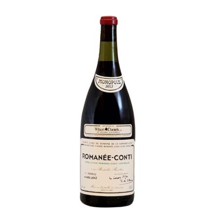 (列级庄·名庄·正牌)法国罗曼尼康帝2012干红葡萄酒750ml