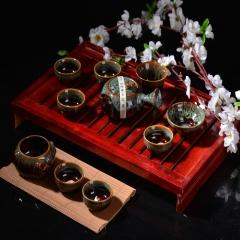 博古精美茶具10件套