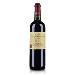 法国红酒法国洛克维城堡红葡萄酒750ml