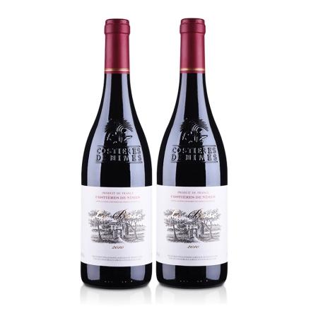 法国原瓶进口AOC博斯克干红葡萄酒(双瓶装)