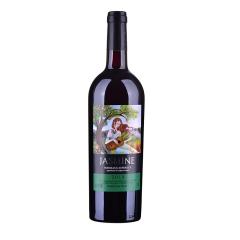 【包邮】法国原瓶进口红酒茉莉花超级波尔多干红葡萄酒750ml