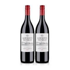 澳洲红酒澳大利亚奔富洛神山庄西拉赤霞珠干红葡萄酒1000ml(双瓶装)
