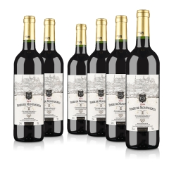 法国原瓶进口莫蕾尔干红葡萄酒750ml(6瓶装)