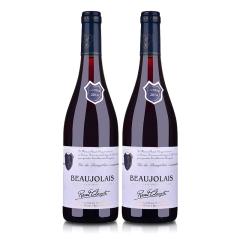法国拉奥尔博若莱干红葡萄酒750ml(双瓶装)