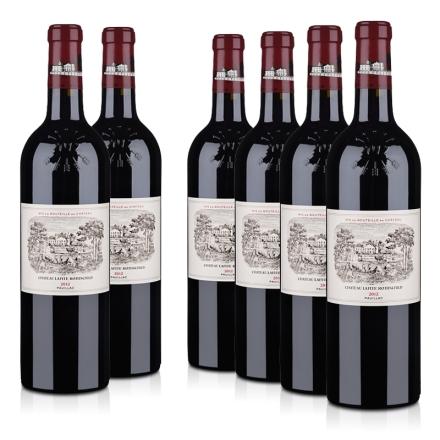(列级庄·名庄·正牌)拉菲古堡2012干红葡萄酒750ml(6瓶装)