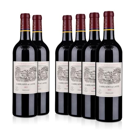 (列级庄·名庄·副牌)拉菲古堡2013干红葡萄酒750ml(6瓶装)(又译:小拉菲)