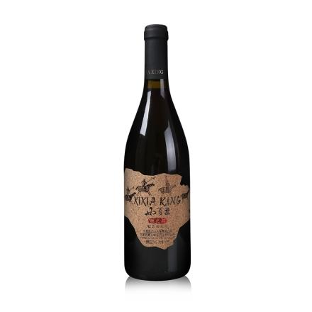 中国宁夏产区国产红酒西夏王驰之战钻石西拉干红葡萄酒单支750ml