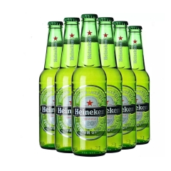 Heineken喜力啤酒330ml(6瓶装)