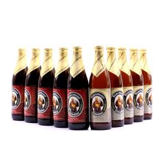德国进口教士范佳乐小麦黑白啤酒组合500ml(10瓶装)