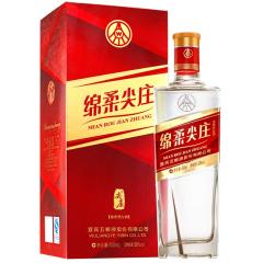 50°五粮液股份公司绵柔尖庄红钻500ml