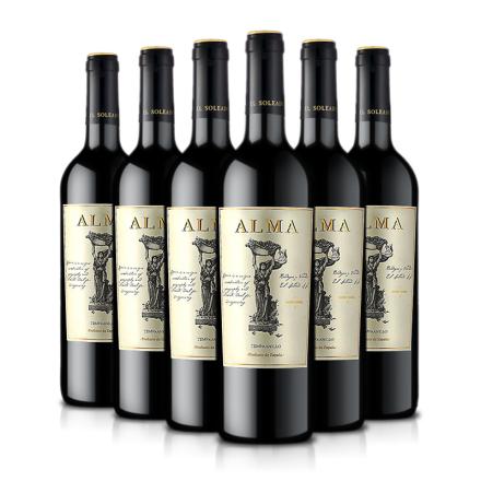【五洲特卖】西班牙原瓶进口红酒奥玛干红葡萄酒750ml(六支装)整箱装