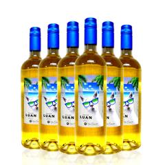 智利(原瓶进口)甜型酒龙兰133白葡萄酒 750ml*6瓶