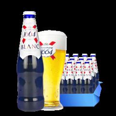 1664啤酒法国品牌凯旋1664白啤酒330ml(12瓶装)