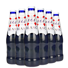 1664啤酒法国品牌凯旋1664白啤酒330ml(6瓶装)