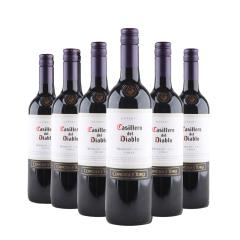 13.5°智利干露红魔鬼梅洛红葡萄酒750ml(6瓶装)