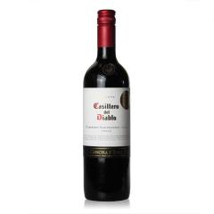 13.5°智利干露红魔鬼卡本妮苏维翁红葡萄酒750ml