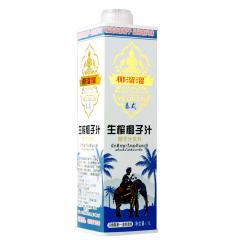 椰溜溜果肉型生榨椰子汁1000ml 盒装