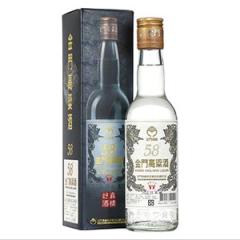 【京东配送】58°金门高粱酒白金龙300ml