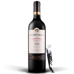 澳洲杰卡斯酿酒师系列梅洛干红葡萄酒750ML